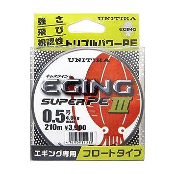 ユニチカ エギングスーパーPEIII  0.5号の画像