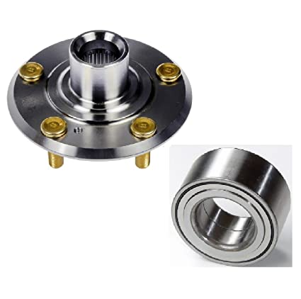 8USAUTO Pair Front Left and Right Wheel Hub and Bearing fit 1998 1999 2000 2001 2002 Honda Accord L4 2.3L 2254cc