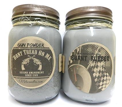 Amazon com: COMBO - Burnt Rubber & Gun Powder Set of TWO