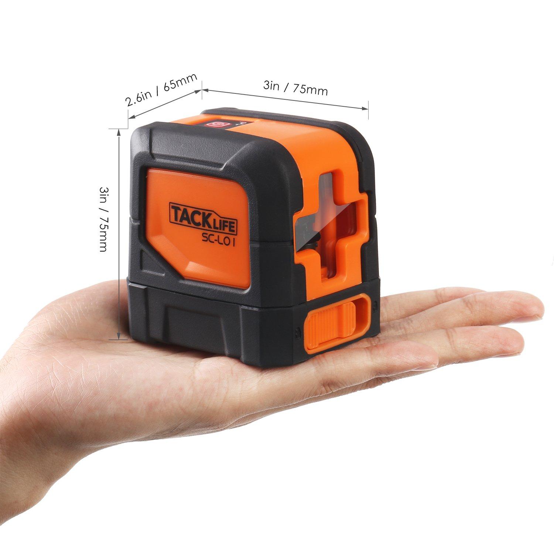 Nivel láser cruzado Tacklife SC-L01 por solo 39,99€