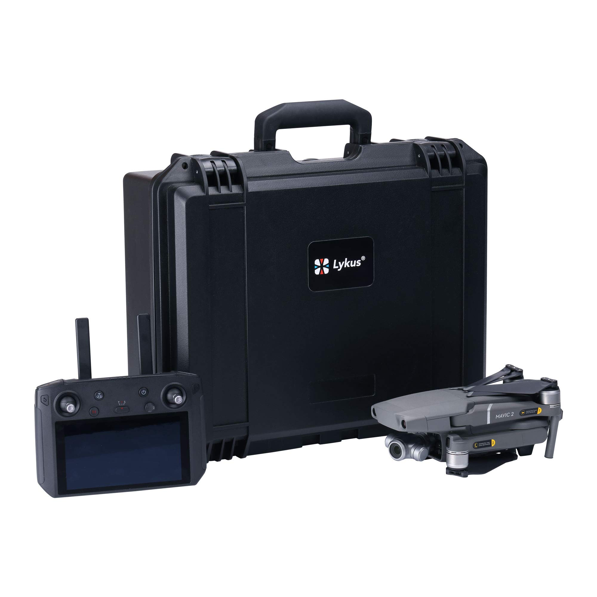 Lykus Titan M120 Hard Case for DJI Mavic 2 Pro/Zoom and Smart Controller (SC Edition) by Lykus