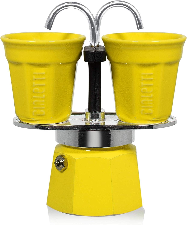 Bialetti 0006191 - Set de Mini cafetera expreso para 2 Tazas y 2 ...