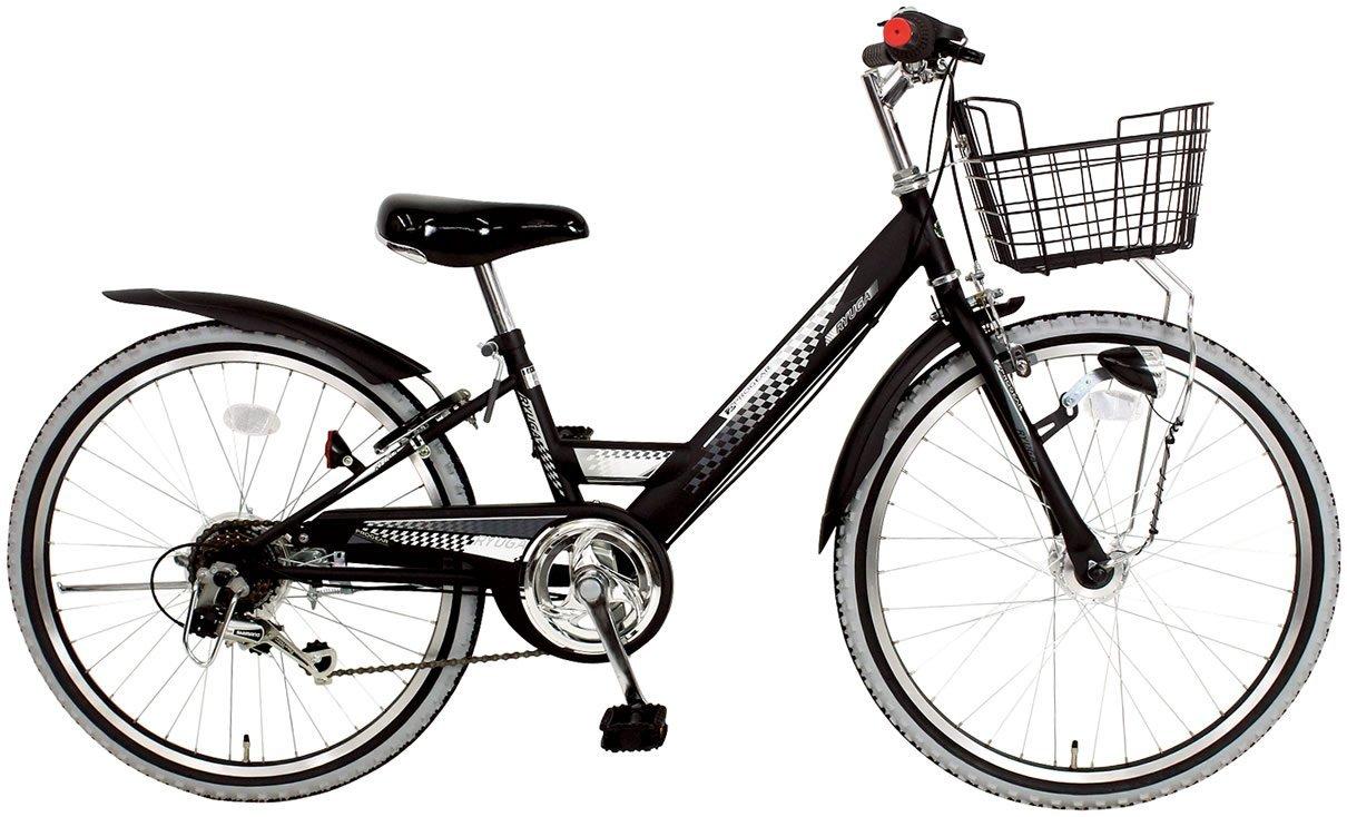 C.Dream(シードリーム) リューガ オートライト RG46-H 24インチ 子供自転車 ブラック 100%組立済み発送   B01FFCWOY2