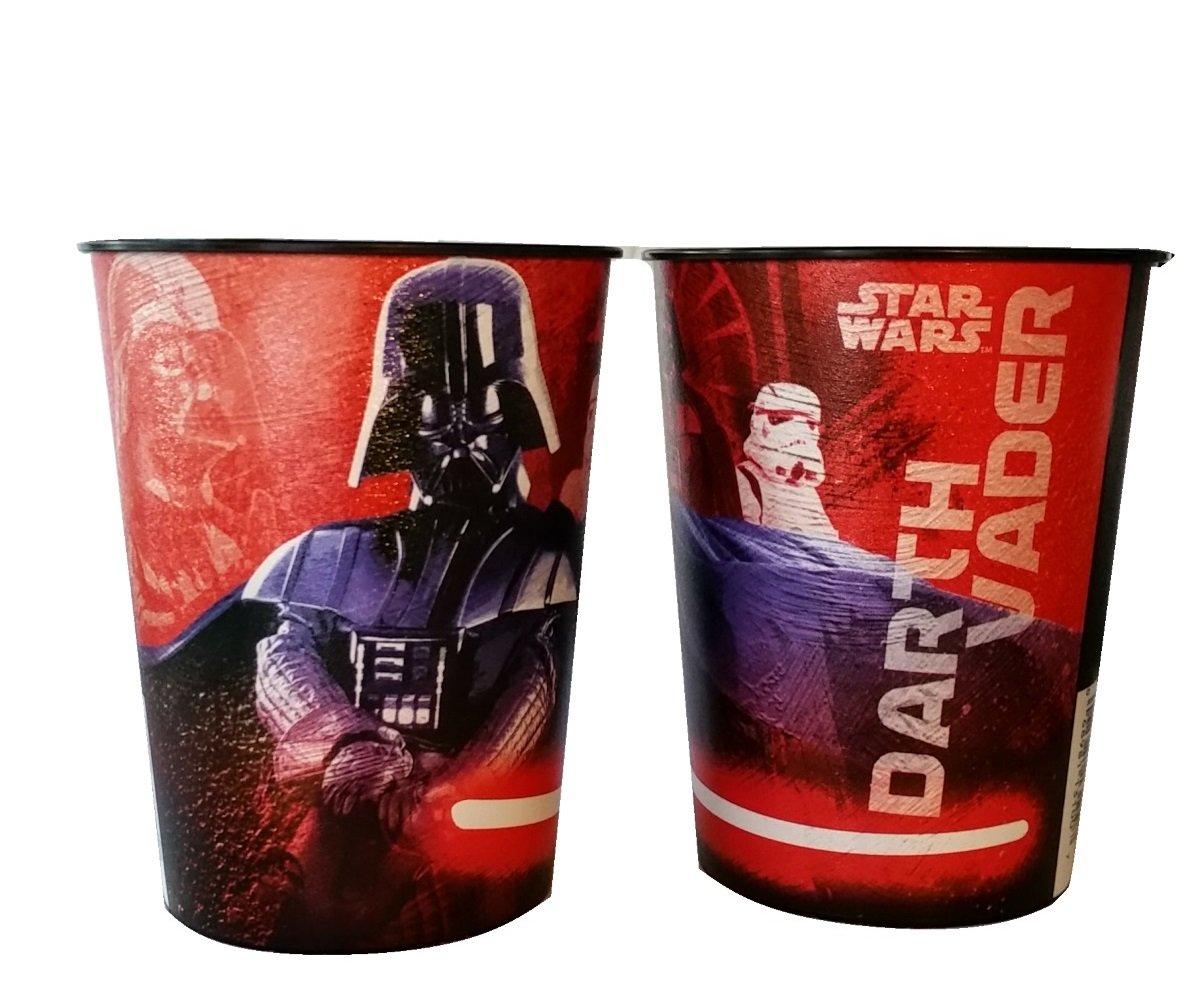 Star Wars Darth Vader 16 oz Plastic Favor Cup 2 Cups