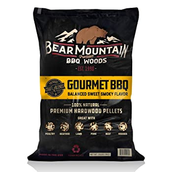 Bear Mountain Hickory Wood Pellets For Smoking