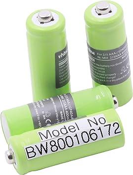 4 x Ni-MH baterías 400mAh (1.2V) para teléfono inalámbrico Hagenuk Classico, iDect X1, X1i, X11 por 2/3 AAA, GP40AAA, GP40AAAM, GP40AAAMC.: Amazon.es: Electrónica