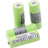 vhbw 4 x 2/3 AAA batteri passar för Hagenuk Classico iDect X1, X1i, X11 telefon och solcellslampor, trädgårdslampor…