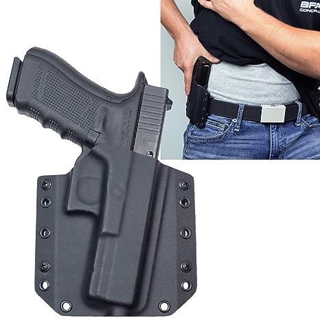Bravo Concealment Glock 17 (Gen 5) OWB Gun Holster