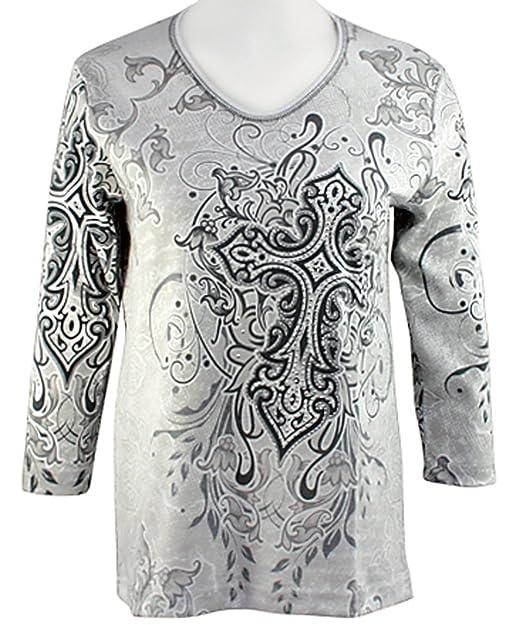 Amazon.com: Cactus Bay Prendas de vestir, diseño de cruz ...