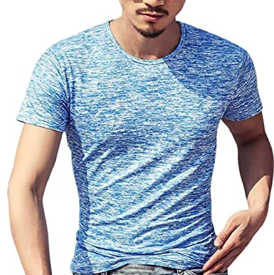 e17b457c Piebo Sale Mens Mens Solid V Neck Long Sleeve/Short Sleeve Casual Tee T  Shirt Top Slim Blouse Muscle Fit T Shirts: Amazon.co.uk: Clothing