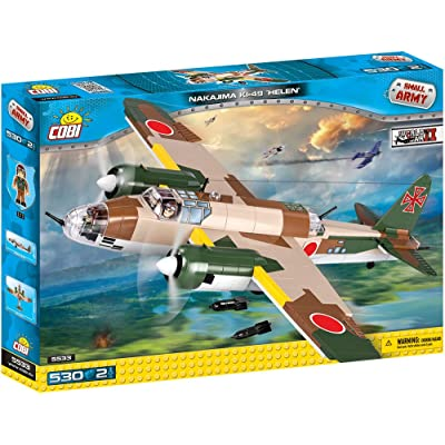 COBI Small Army Nakajima Ki-49 Helen Plane Building Kit: Toys & Games