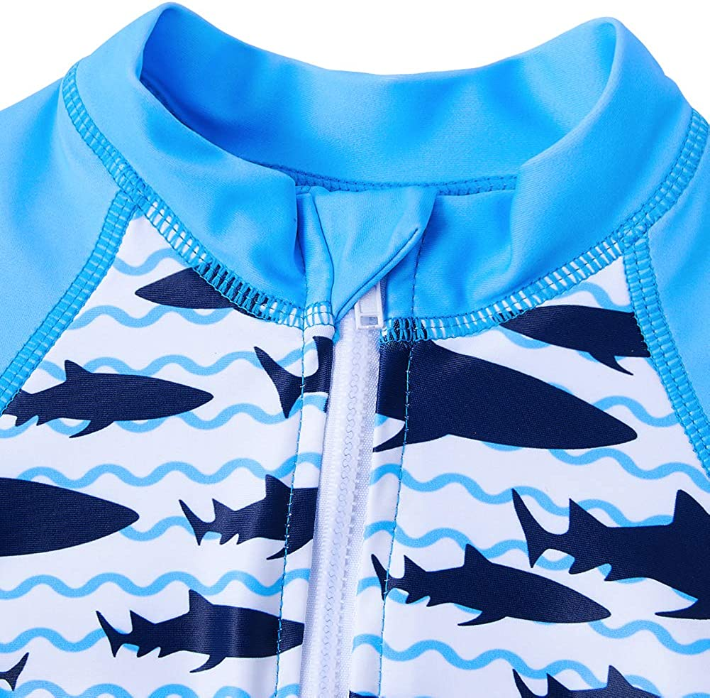 6-36 Months Funnycokid Baby Boys Girls Swimsuit Rash Guard One Piece Toddler Bathing Suit Swimwear Sunsuit UPF 50