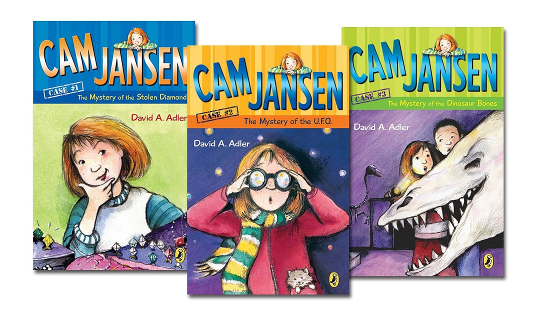 CAM Jansen Mystery Collection Complete Set 1 - 28