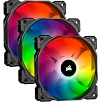 Corsair iCUE SP120 RGB PRO, RGB LED, Low-Noise, High Airflow, Case Cooling Fan (Triple Pack), 120 mm
