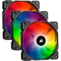 Corsair iCUE RGB PRO, RGB LED, Low Noise, High Airflow Case Cooling Fan - Single Pack