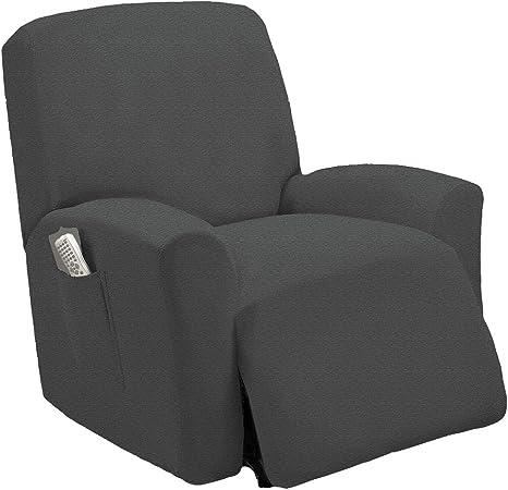 Amazon.com: Fundas elásticas de una pieza para sillas ...
