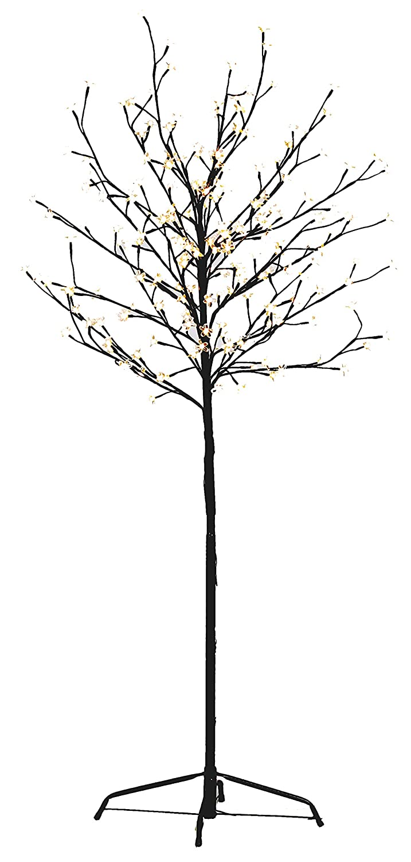 Gartenpirat LED-Kirschblütenbaum 250 cm Hoch mit 600 LED Warm weiß für außen GP6194