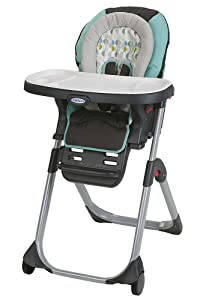 Graco DuoDiner LX High Chair, Converts to Dining Booster Seat, Groove