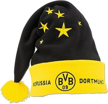 Borussia Dortmund BVB Bonnet de No/ël avec Inscription