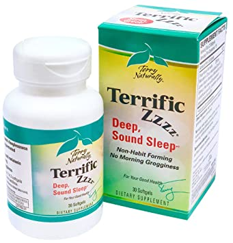 Terry Naturally Terrific Zzzz - 30 Softgels