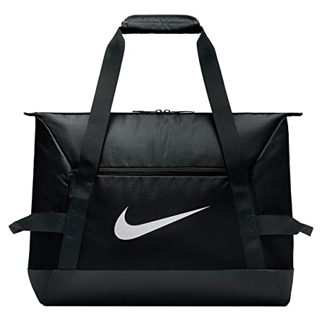 quality design ffeba 66f0e Nike Academy Team Duffel S Sports Bag, Black Black White, MISC