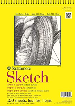 Strathmore 350-9 300 Series Charcoal Drawing Sketch Pad