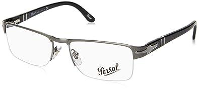 bc58c8d241 Amazon.com  Persol PO2374V Eyeglasses-513 Gunmetal-52mm  Shoes