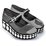 Hot Chocolate Design Chocolaticas Op Art Women's Mary Jane Platform