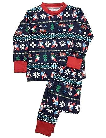 FastDirect Pijama Niño Pijama Mujer Pijama Hombre Set de 2 Piezas Ropa de Dormir Familia Navidad: Amazon.es: Ropa y accesorios