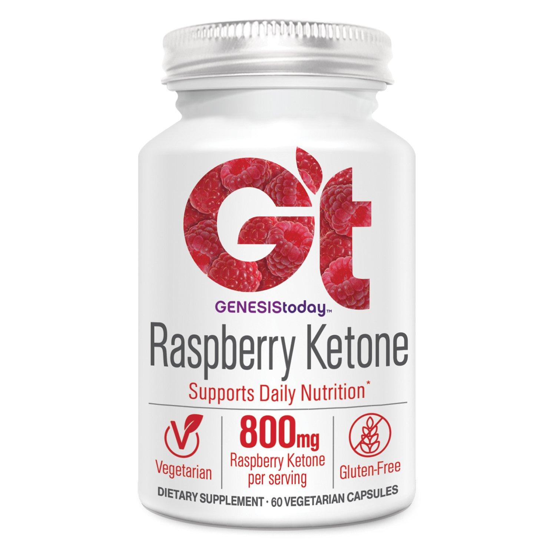 Genesis Today, Raspberry Ketone 800mg, 60 Count