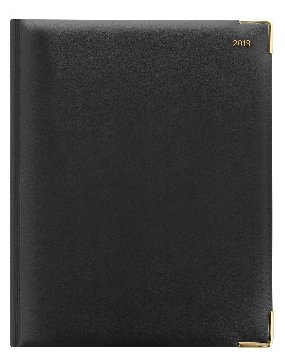 Letts of London Classic Desk 11Y 2019 Month to View - Quarto Size (Y Size) Calendar - Black by Letts of London