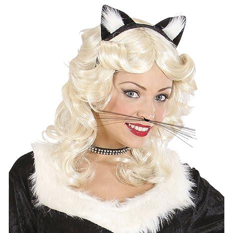 schnurr pelo Gatos Bigote gato Bigote Vello Ratón Barba leopardo schnurr pelo Animales accesorio Disfraz de
