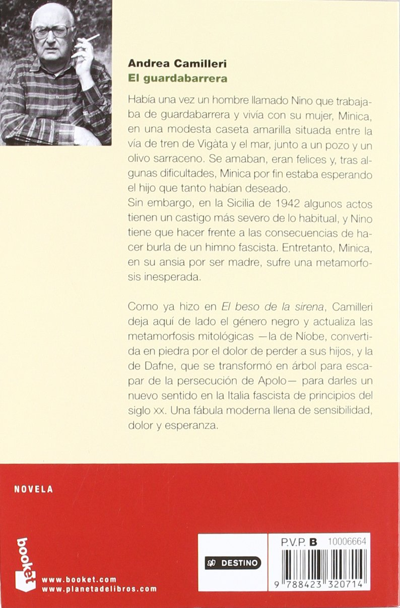 El guardabarrera (Novela y Relatos): Amazon.es: Andrea Camilleri, Carlos Vitale: Libros