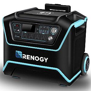 RENOGY 1000Wh AC出力1200W(合計最大) リン酸リチウム