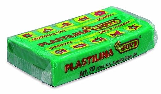 Jovi - Caja de plastilina, 30 pastillas 50 g, colores flúor, 5 x 6 colores (70F): Amazon.es: Oficina y papelería