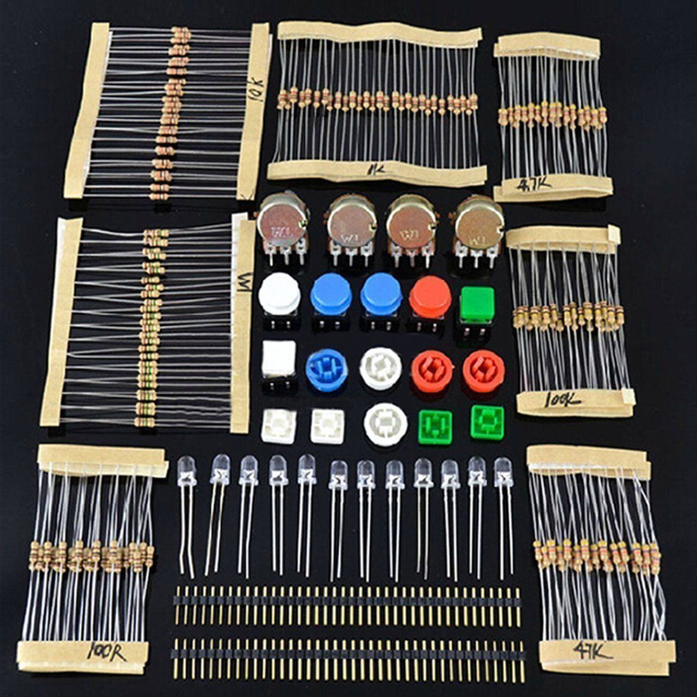 Electronique fans Kit package de composant pour les cours Arduino SARTER LAOMAO A0042