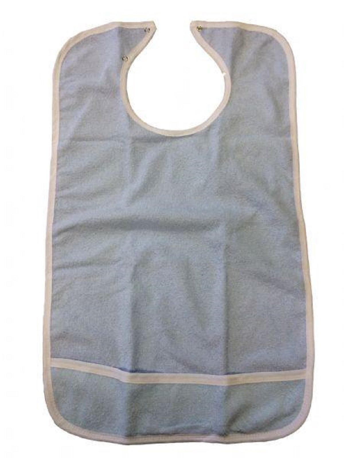 BH CRUMB CATCHER ADULT BIBS WITH SNAP CLOSURE 3 Pack