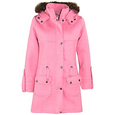 f4628014d1252 A2Z 4 Kids® Kids Girls Coat Faux Fur Hooded Long Fashion - Fleece Parka  Jacket