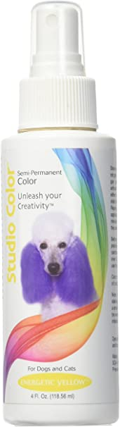Davis Studio Color Dog Hair Dye - Energetic Yellow