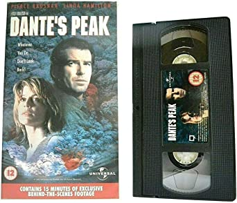 Dante S Peak 1997 Disatser Thriller Pierce Brosnan Linda Hamilton Pal Vhs Amazon Co Uk Video