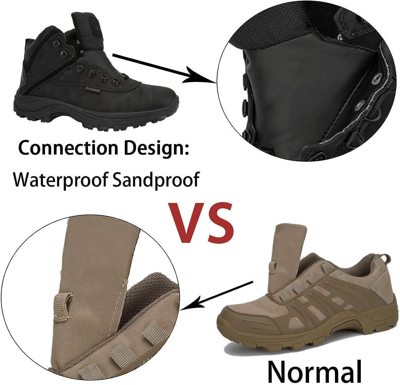 Kitleler Mens Lightweight Ankle Boots Hiking Waterproof Boots
