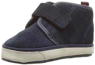 eb459787c Polo Ralph Lauren Kids Boys' Chett EZ Crib Shoe Navy 1 M US Infant