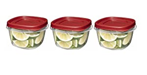 Rubbermaid Easy Find Lid Food Storage Set, 2 Cup, 6 Piece set