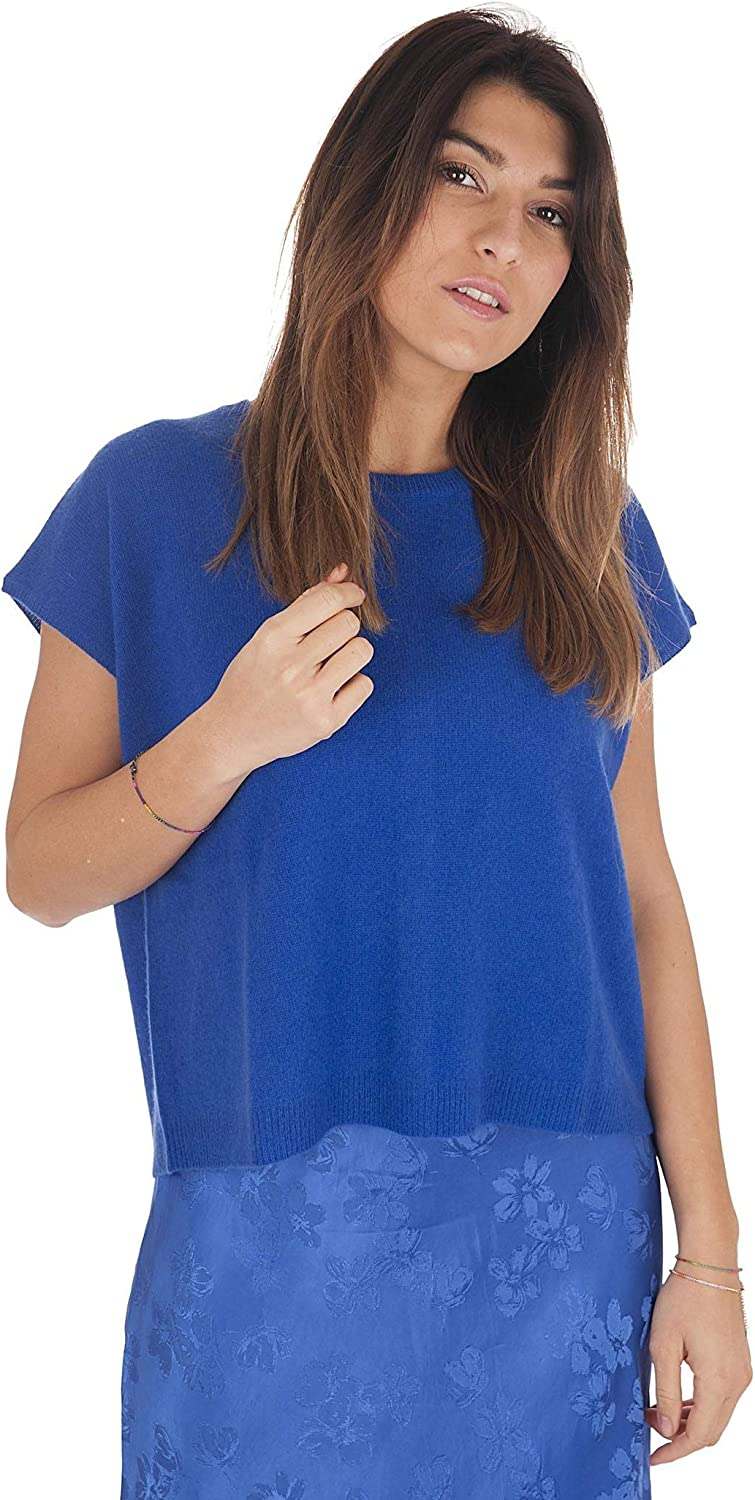 ABSOLUT CASHMERE Louise AC092017CELECTRIC - Camiseta para Mujer