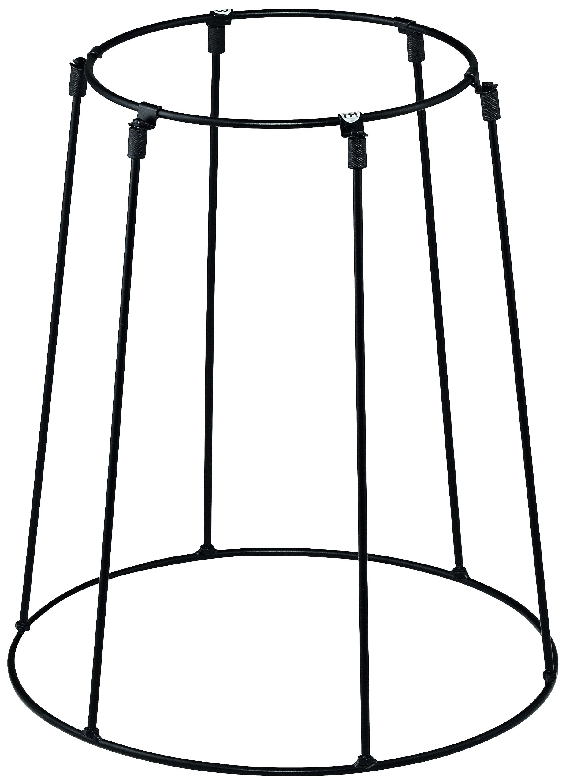 Meinl Percussion Travel Djembe Stand with Collapsible Design - NOT MADE IN CHINA - Perfect for Drum Circles, 2-YEAR WARRANTY (STDJST-BK)