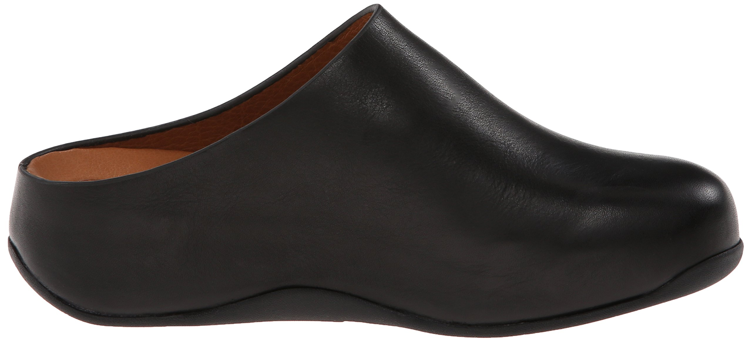 FitFlop Women's Shuv Leather Clog,Black,5 M US by FitFlop (Image #7)
