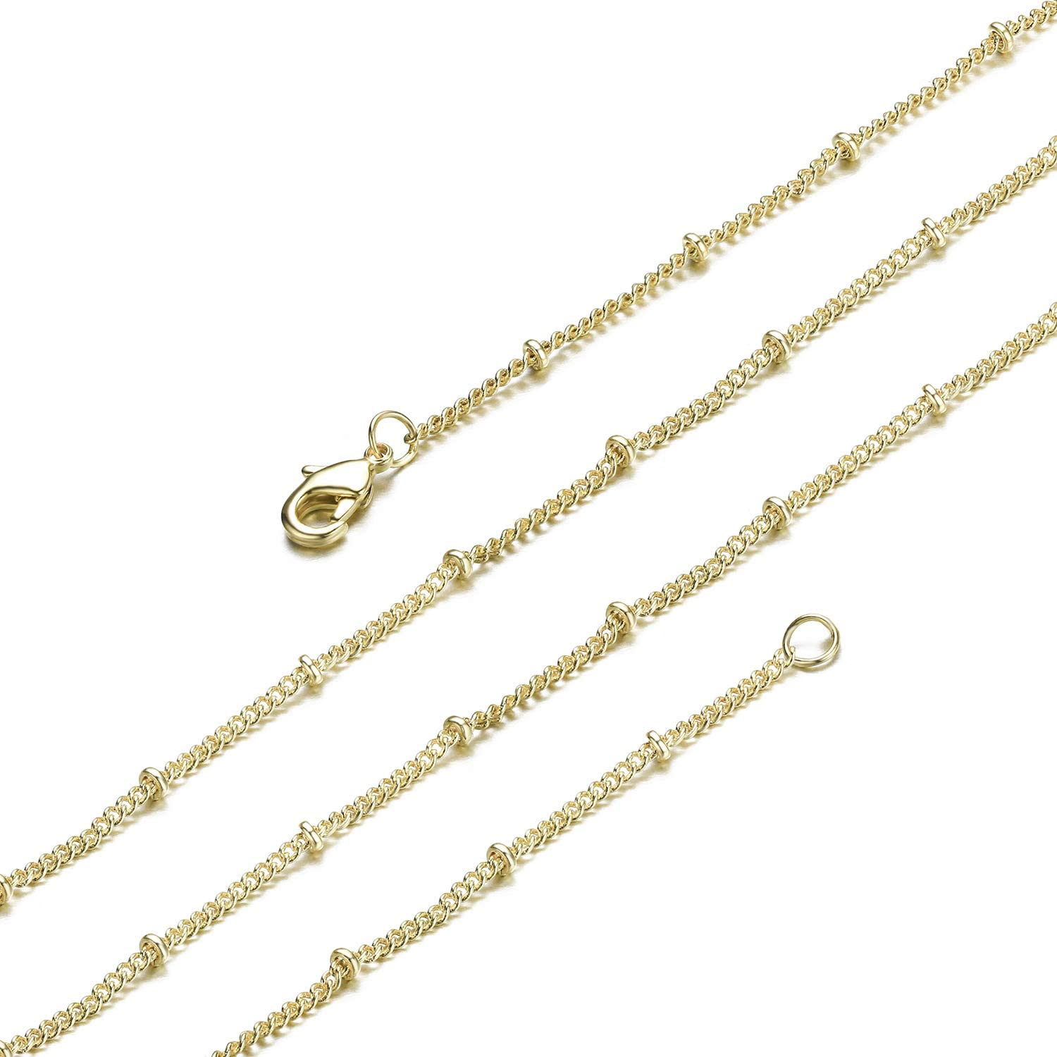 romantic finished chain brass minimalist necklace black steel chain 32 to 36 lenght, Black silver and gold chains charms necklace