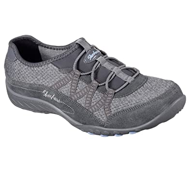 Skechers Relaxed Fit Breathe Easy Road Tripper Womens Slip On Sneakers  Charcoal 6