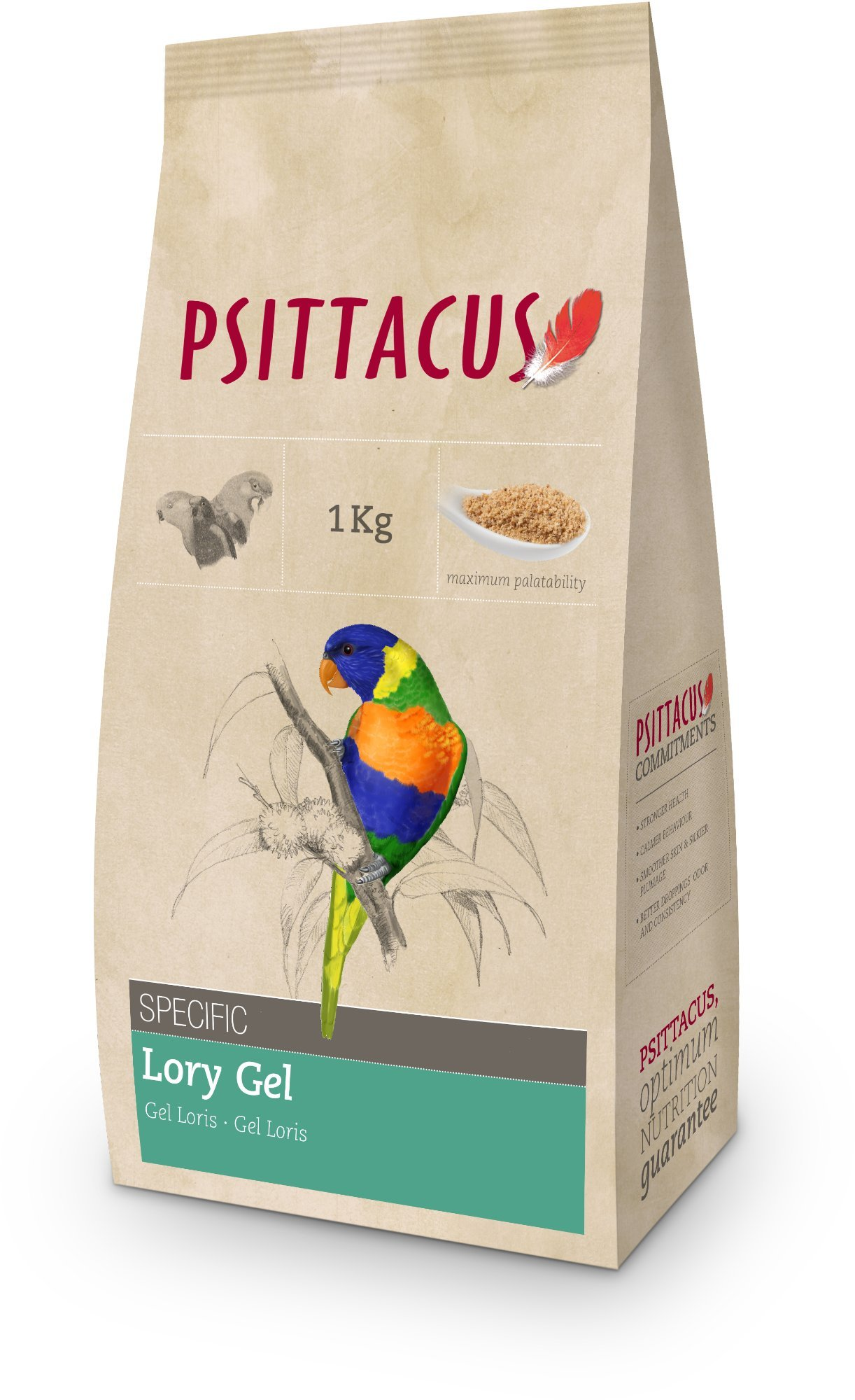 PSITTACUS CATALONIA, Pet Feeding - 1000 gr