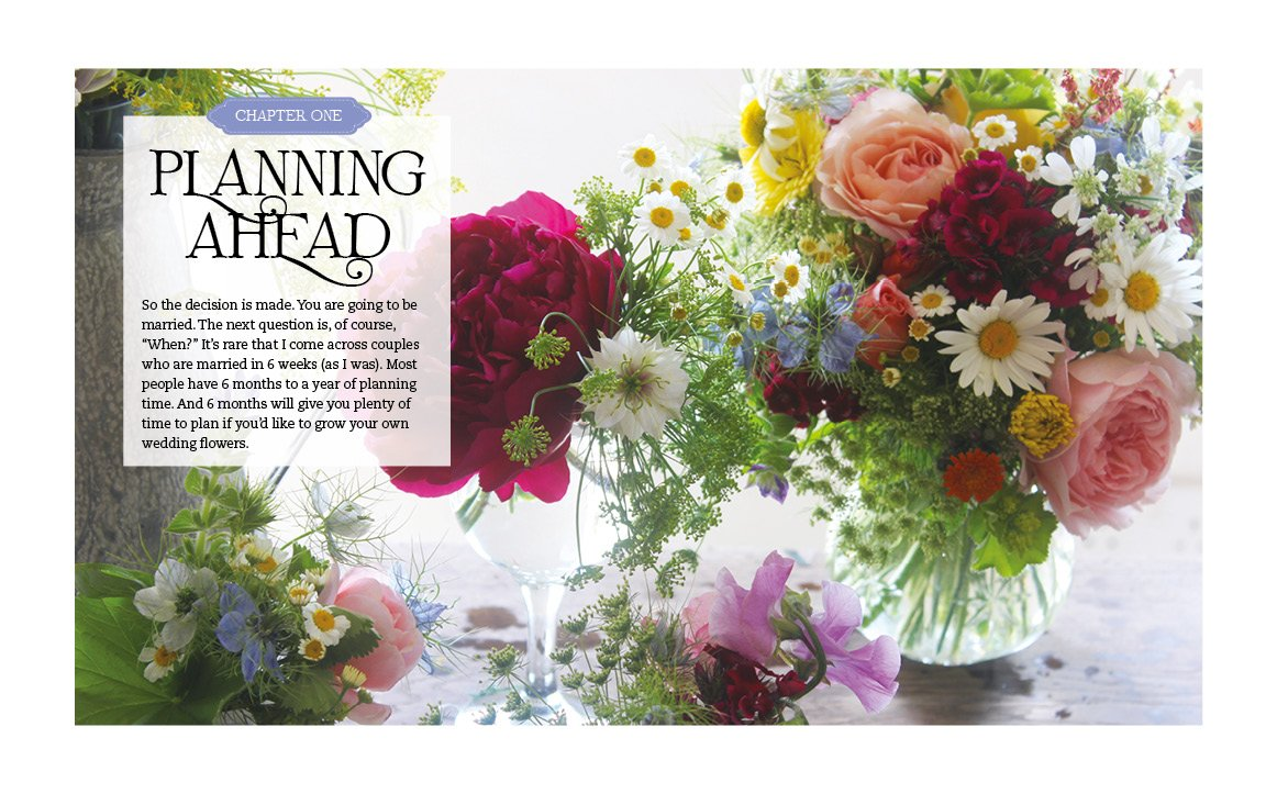Grow Your Own Wedding Flowers How To Grow And Arrange Your Own